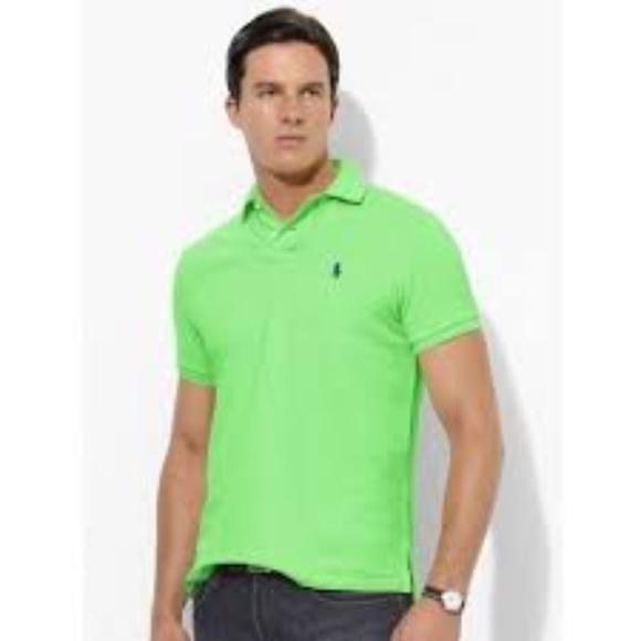 a2b6b832 Men's Ralph Lauren Polo Shirt in Lime Green. M_5b089df88af1c50da65e7b8c